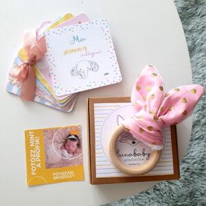 Mérföldkő babakártya csomag Kislányoknak