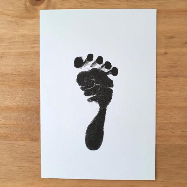 Baba láblenyomat
