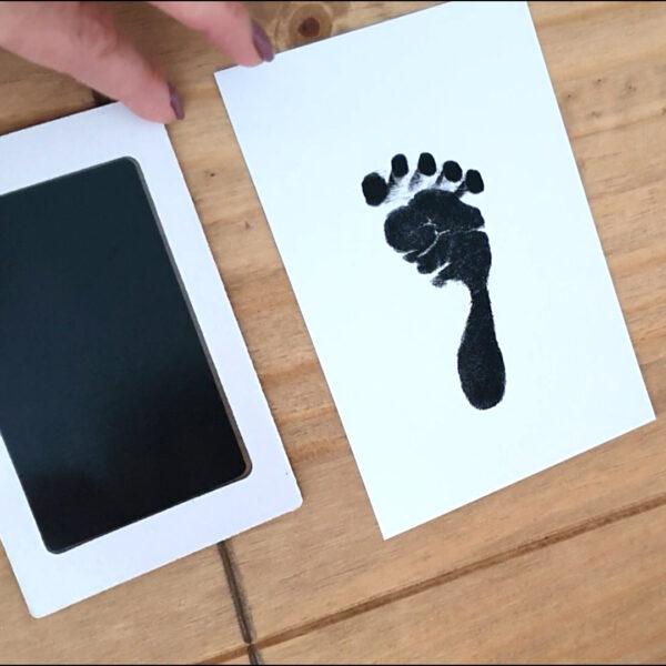Baba kéz- és láblenyomat készítő