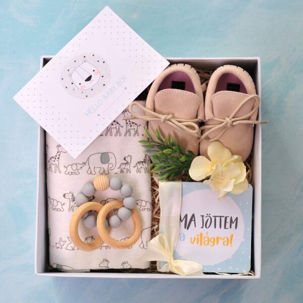 Baby Love újszülött kisfiú ajándékcsomag