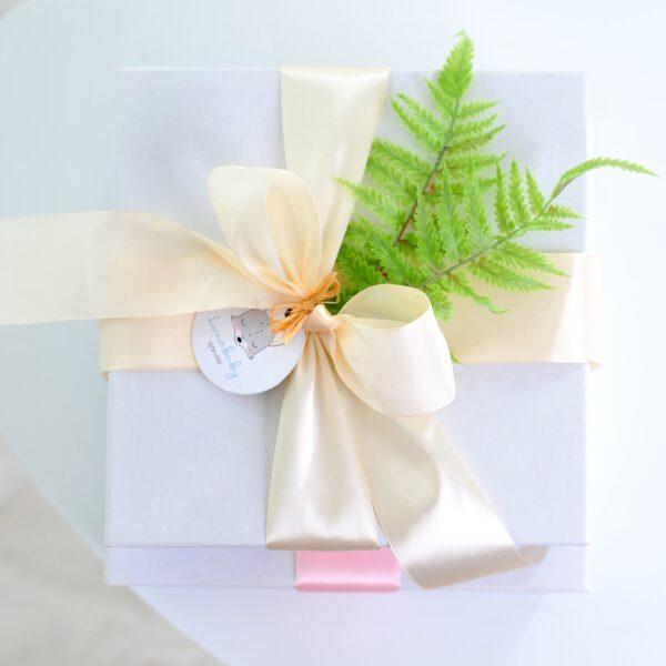 Lunababy ajándékcsomag diszcsomagolás
